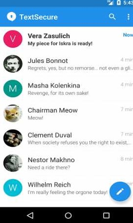 Signal Private Messenger v4.5.2 build 265 Apk